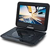 SYNAGY 10.1inch Portable DVD Player With Screen Portable CD Player With SD Card Slot For Cars Kids Adults & Seniors