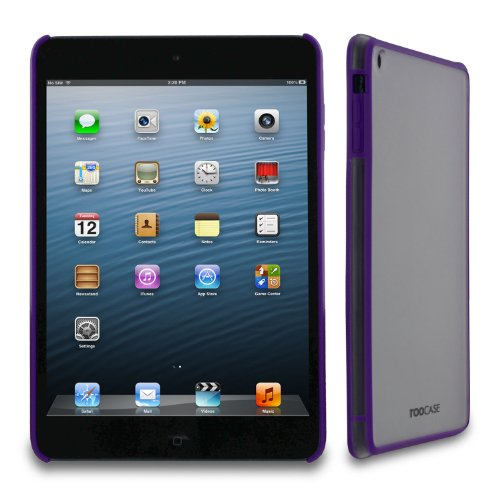rooCASE Fuse (Frost/Purple) Snap-On Shell Case for Apple for Apple iPad Mini 7.9-Inch Tablet