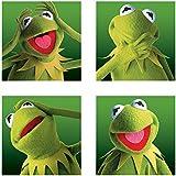 """The Muppets """"diseño de la rana Gustavo Cajas"""" canvas, multicolor, 40x 40cm"""