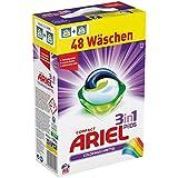 Ariel 3 in 1 Pods Colorwaschmittel, 1er Pack (1 x 48 Waschladungen)