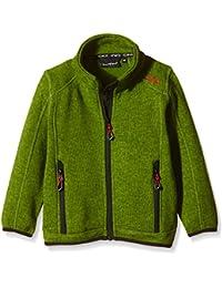 CMP chaqueta polar para niños, todo el año, niño, color Verde - Grass/Cedro, tamaño 6 años (116 cm)