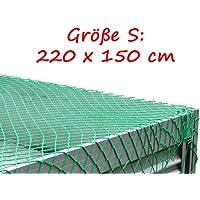 Geschenkoase11 Abdecknetz Anh/ängernetz Gep/äcknetz zur Ladungssicherung Transportnetz S 220 x 150cm