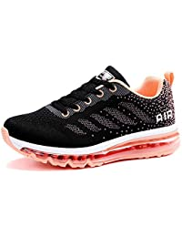 huge discount 1ba33 02659 Chaussure de Sport Homme Femme Basket de Running Fitness Course Sneakers  Gym Jogging Athlétique Multisports Casual