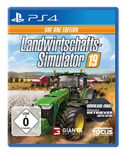 Landwirtschafts-Simulator 19 Day One  Edition - [PlayStation 4] (exkl. bei Amazon)