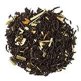 Aromas de Té - Pyramides Thé noir agrumes Citron Citronnelle naturel bio, Diurétique Taille 10 Pyramides
