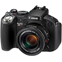 Canon PowerShot S5 IS Digitalkamera (8 Megapixel, 12-fach opt. Zoom, 6,4 cm (2,5 Zoll)Display, Bildstabilisator)