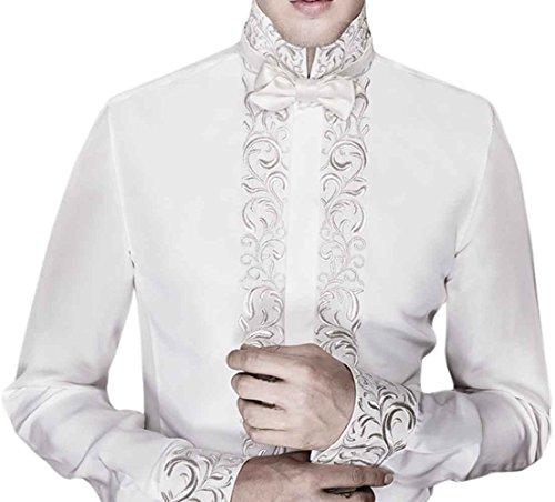 INMONARCH -  Camicia classiche  - Uomo White