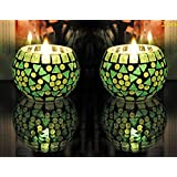 FAB D ZINES Home Decorative Votive Tea Light Candle Holder 3 Inches/Tealight Holder Set - B075V9F6HT