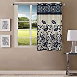 Queenzliving Marvela Curtain, Window 5 feet- Pack of 1, Royal Blue