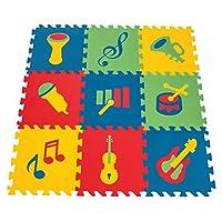 Pilsan Eğitici Polietilen Oyun Matı- Müzik Aletleri