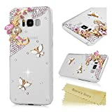 S8 Plus Case, Galaxy S8+ 3D Bling Shiny Diamonds Glitter Sparkling Case Colorful