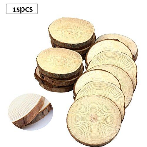 fuhaieec-15pcs-35-4-circulos-pendientes-de-rodajas-de-madera-natural-con-corteza-de-arbol-log-discos