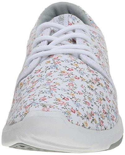 Etnies SCOUT W'S, Chaussures de Skateboard femme Blanc (Black)