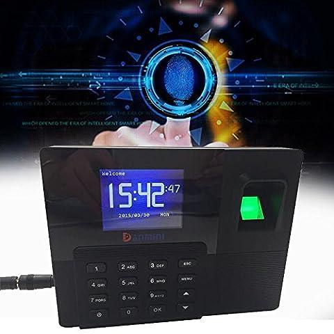 Gaintree 2.8TFT couleur Fingerprint temps de présence RFID Horloge Système contrôle d'accès de porte avec TCP/IP