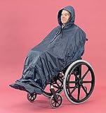 PD CARE Regencape für Rollstuhlfahrer, ärmelloses Design, extra-lang