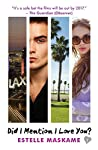 Did I Mention I Love You? is first in the sensational DIMILY trilogy, which follows sixteen-year-old Eden Munro as she travels from Portland to begrudgingly spend the summer with her father in the beachfront city of Santa Monica, California. Eden's p...