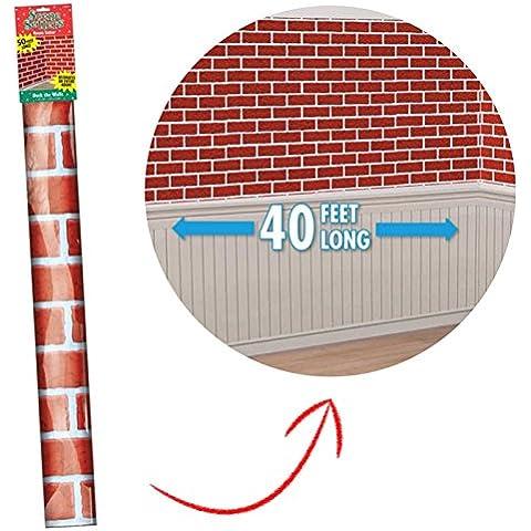 Red Brick 12,19 Meters camino da parete