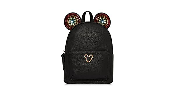 2923c29153 PRIMARK Ladies Girls Womens DISNEY MICKEY MOUSE RAINBOW EARS Black Backpack  Rucksack SOLD BY PENTA06  Amazon.co.uk  Luggage