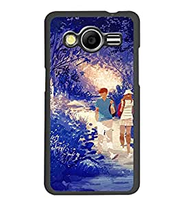 PrintDhaba Couple D-4252 Back Case Cover for SAMSUNG GALAXY CORE 2 G355H (Multi-Coloured)