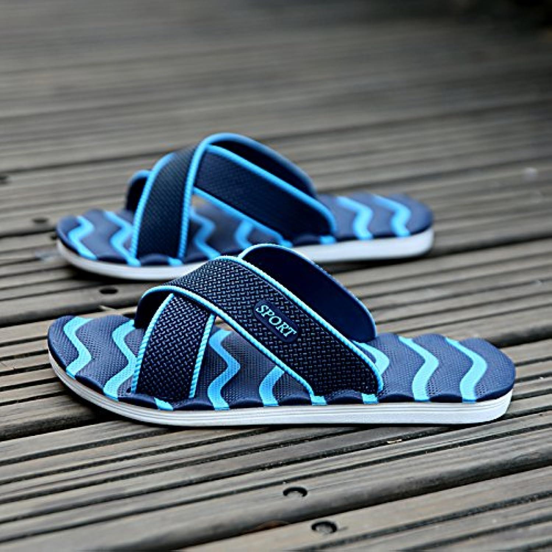 MONAcwe Flip Flops Sandalen Hausschuhe Herren Sommer Atmungsaktive Tägliche beiläufige Männer Startseite Rutschfeste