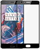 Market Affairs Premium Full Screen Coverage Tempered Glass Screen Guard Protector for OnePlus 3T /OnePlus 3 Black [No…