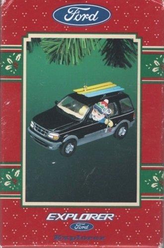 1996-enesco-ford-explorer-decorazione-natalizia
