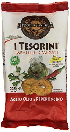 I Tesorini Tarallini 225Gr Aglio/Olio/Peperoncino