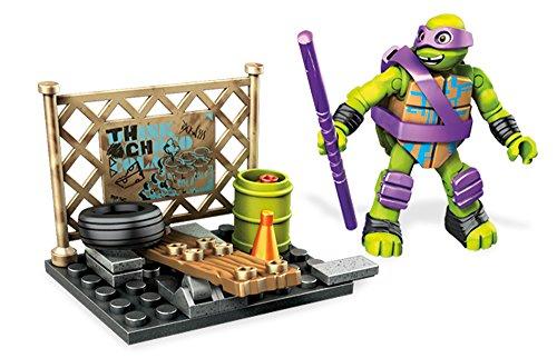 Mega DPF 61 - Mattel Mega Bloks - Ninja Turtles: entrenamiento