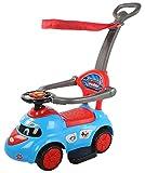 #9: Baybee Tikki-Rikki Push Car with Canopy and Parent Control, Music Sound (Blue)