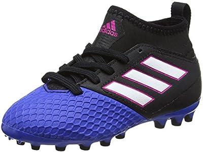 adidas Ace 17.3 Ag J, Botas de Fútbol Unisex Niños, Rojo/Negro