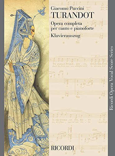 Turandot. Klavierauszug, Italienisch, Deutsch