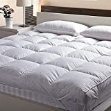AVI Large Twin Size Bed Imported Super Microfiber Mattress Padding/Mattress Topper with Large