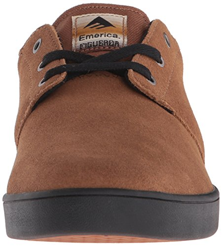 Emerica Figueroa, Brown / Black Chaussures De Skate Pour Hommes