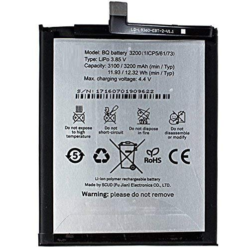 Theoutlettablet Bateria Bq Aquaris X5 Plus 3200mah