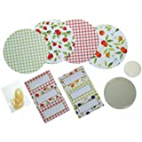 Kitchen Craft Home Made Traditional Preserving Accessories Kit, Set of 24