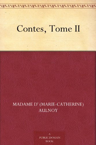 Couverture du livre Contes, Tome II