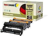 Pack 3 TONER EXPERTE® Compatibles DR2200 TN2220 Kit Tambour & 2 Cartouches de Toner pour Brother DCP-7055 DCP-7060D DCP-7065DN HL-2130 HL-2132 HL-2240 HL-2240D HL-2250DN HL-2270DW MFC-7360N FAX-2840
