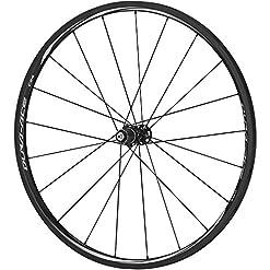 Shimano dura-ace wh-9000-c24-cl dura-ace Wheel, Carbon laminate clincher 24mm, anteriore