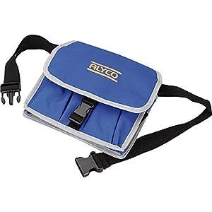 Alyco 196880 – Bolsa de nylon con cierre rapido y cinturon