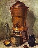Das Museum Outlet–Das Wasser Tank von Jean Chardin, gespannte Leinwand Galerie verpackt. 96,5x 121,9cm