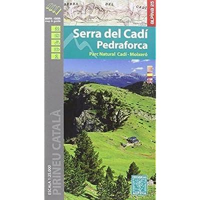 SERRA DEL CADI/PEDRAFORCA - 1/25.000