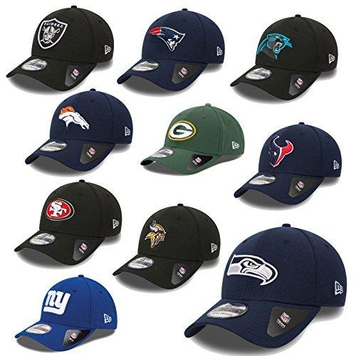 NEW ERA cap 39Thirty NFL Cap Team Poly Seahawks Raiders Patriots Raiders 49ERS Giants uvm, Adulti (unisex), Seattle Seahawks #2516, S/M
