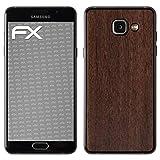 atFolix Samsung Galaxy A5 (2016) Skin FX-Wood-Teak Designfolie Sticker - Holz-Struktur/Holz-Folie