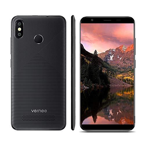 Vernee T3 Pro 5,5 Zoll 18: 9 Ohne Lünette Vollbild Smartphone Android 8.1 4G LTE MTK6739 3 GB RAM 16 GB ROM Handy Vier Kern 4080mAh 13MP Doppelrückseite Kameras Mobiltelefon