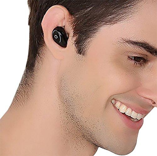 Expresstech @ Mini Auricolare Bluetooth 4.1 in Ear Mani Libere Senza Fili Cuffia Auricolari con Microfono Stereo per iPhone X 8 7 7 Plus iPad PRO iPod MacBook PRO Galaxy S9 - 8