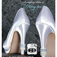Kercisbeauty - Lot De 2 Clips Chaussures De Mariée, Demoiselles D'honneur, Argent, Cerise, Fleurs, Fleurs, Fleurs Avec Perles D'eau Douce, Des Talons Hauts Pour Les Femmes, Anniversaire Accessoire, Un