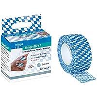 Höga Fingerflex Bavaria, 2.5cm x 4.5m gedehnt, selbsthaftende Pflaster Bandage, Poypropylen, Beschichtung: synthetischer... preisvergleich bei billige-tabletten.eu