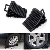 2 antideslizante antideslizante vehículo coche camión rueda, neumáticos neumáticos cuña ...