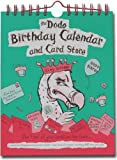 Dodo Birthday Calendar and Card Store: A Pocketed Birthday/Anniversary Card Calendar - Keep Track of Everyone's Birthday AND Store Your Cards (Dodo Pad)