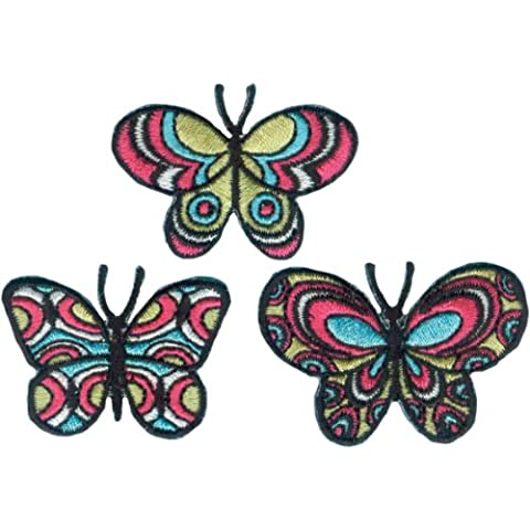 C & D Set Patch Visionario-Farfalle